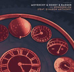 Cover de Wonderklok de Movenchy et Honey & Badger sur Confession