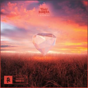 Cover de Loverus le nouveau morceau de Tony Romera sur le label Monstercat