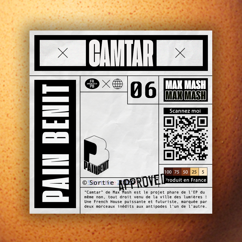 Max Mash Cover Camtar EP