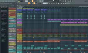 Interface du logiciel FL Studio