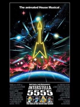 interstella 5555 affiche filmographie des Daft Punk
