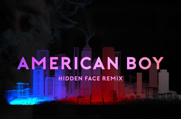 Cover du remix American Boy par Hidden Face