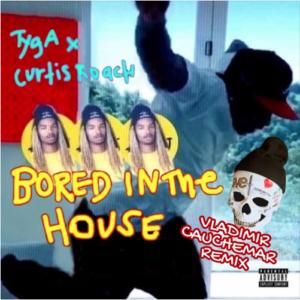 "cover du remix de ""Bored in the house"" de Tyga x Curtis Roach par Vladimir Cauchemar"