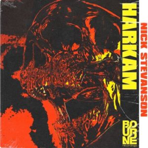 Cover du morceau Harkam de Nick Stevenson dispo sur Bourne Recording