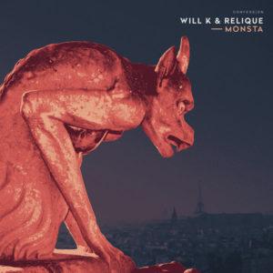 Cover du morceau Monsta par Relique & Will K