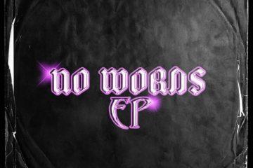 """Cover de l'EP """"No Words Ep"""" du français Soxx sur Feuille Vierge"""