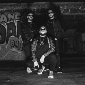 Photo de profil du trio belge Hooders qui sortent le morceau life