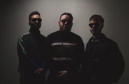Photo du trio belge Hooders