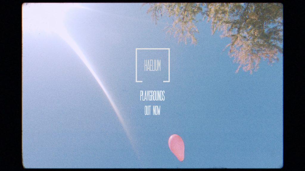 cover du morceau Playground de HAELIUM