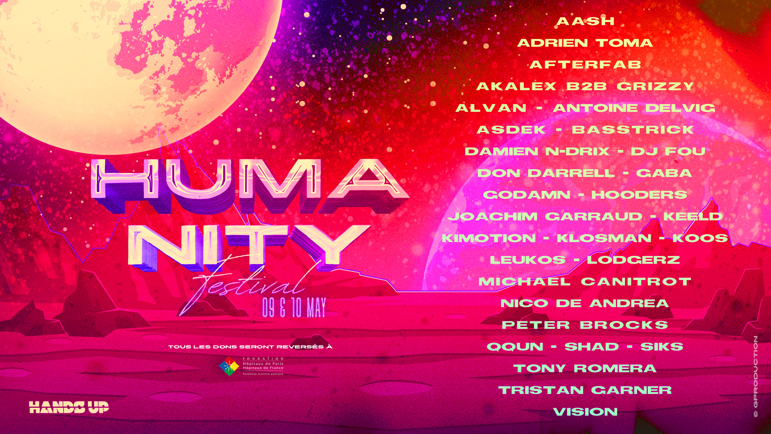 Humanity Festival Line Up Complet