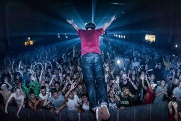 Photo de la foule du public de Dream Nation