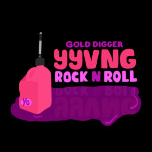 RNR Cover - YYVNG Gold Digger Records