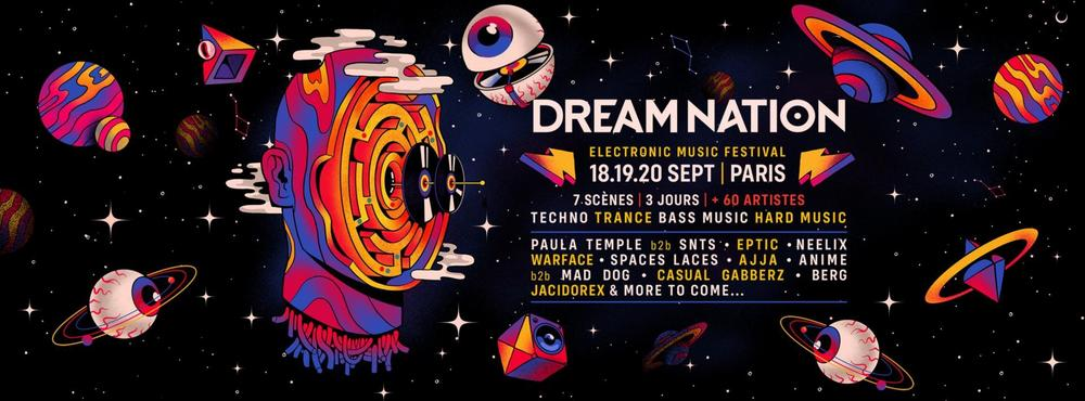 Photo de couverture du line-up de Dream Nation
