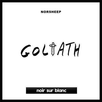 """Cover de """"Golitath"""" de Norsheep, sur Noir sur Blanc"""