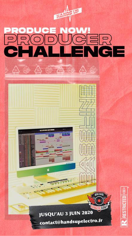 cover du second produceur challenge handsup