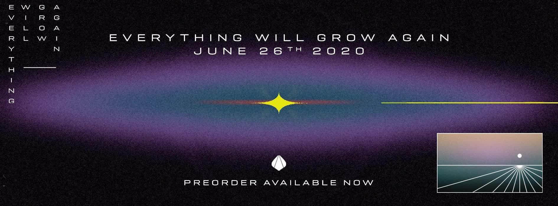"Everything will grow again, troisième album de Fakear, incluant ""Sekoia"""