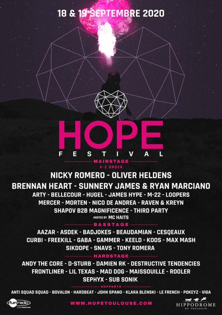 affiche hope festival 2020