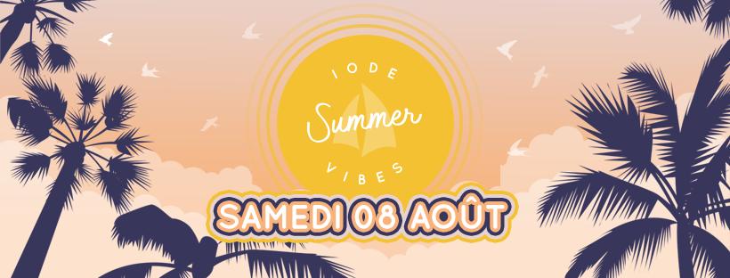 Cover du Iode Summer Vibe, remplaçant de l'Iode Music Festival 2020