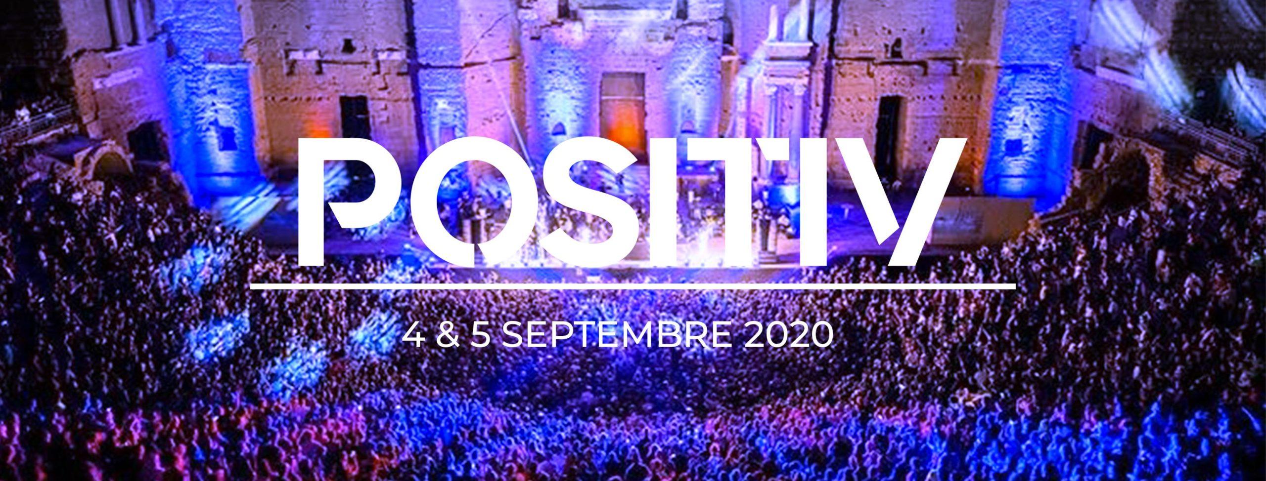 Cover du Positiv Festival 2020