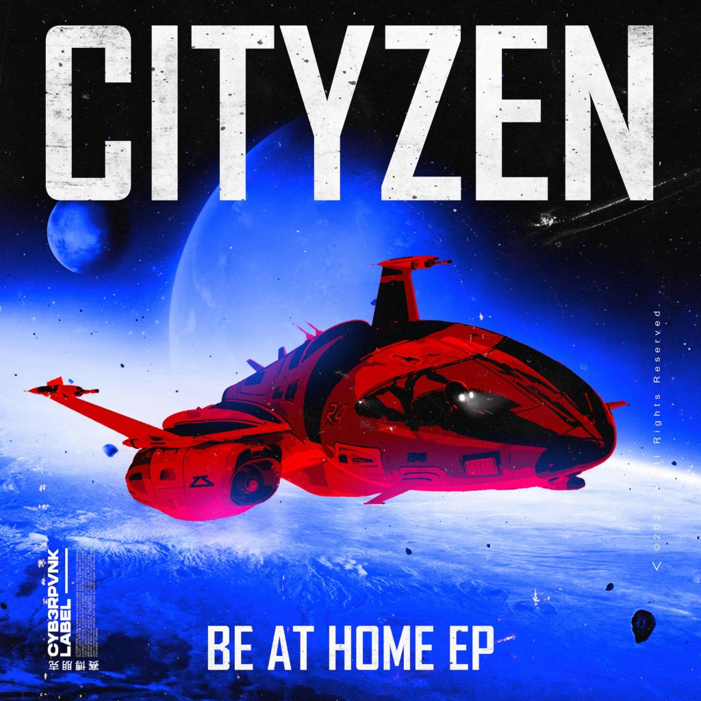 Cover EP Cityzen Back At Home