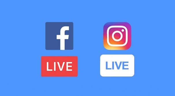 Facebook Instagram Live Livestream