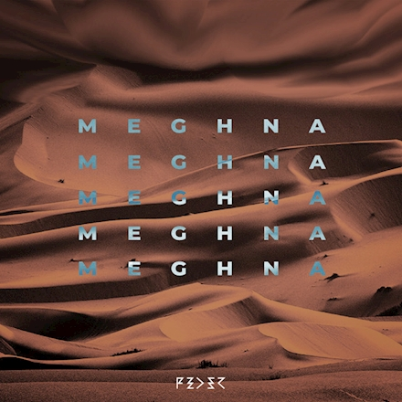 "Cover du nouveau single de Feder ""Meghna"""