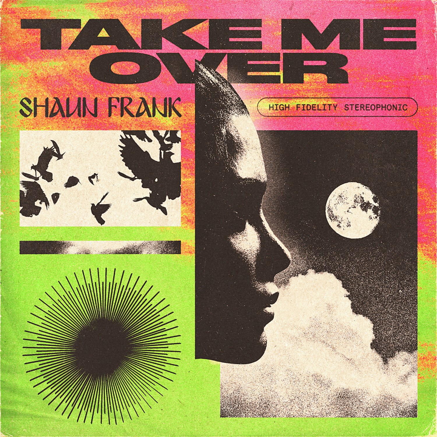 Shaun Frank Take Me Over Cover