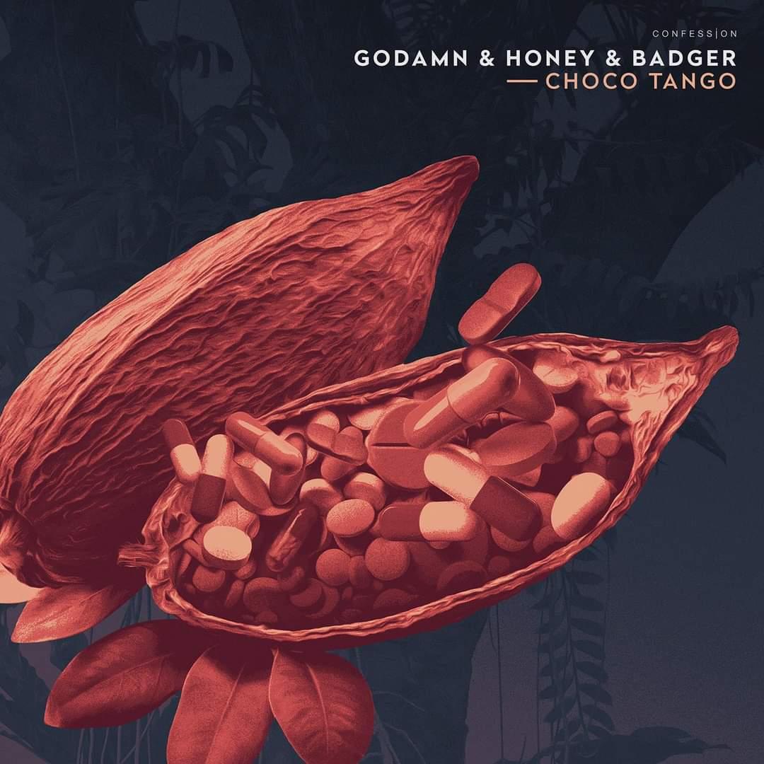 """Cover de """"Choco Tango"""" le dernier GODAMN et Honey & Badger"""