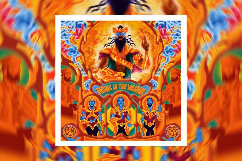 """Cover de """"Music is the weapon"""" le 4ème album de Major Lazer"""