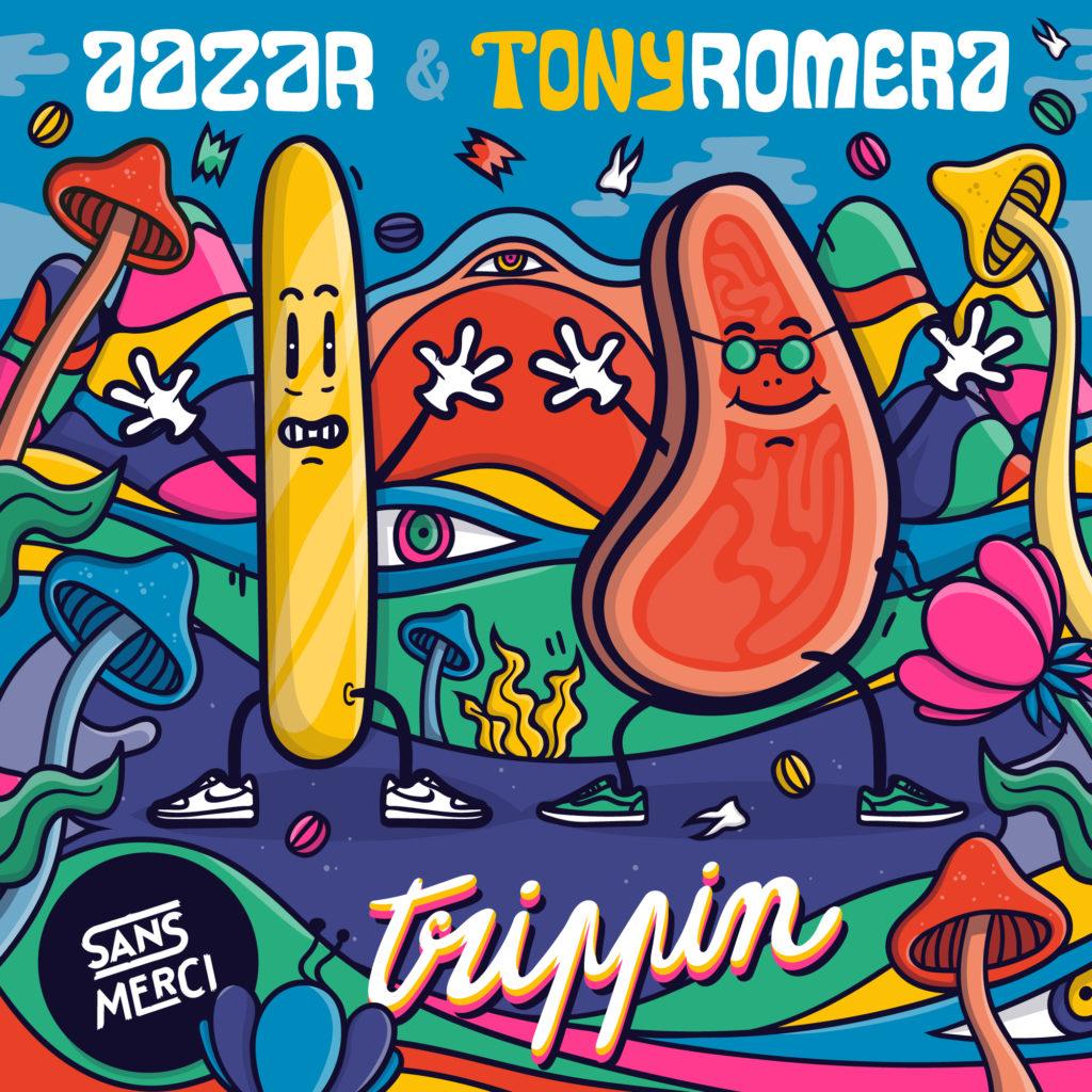 Tony Romera Aazar Trippin COVER