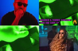 """Photo de Kramder, Tommie Sunshine et de la pochette de leurs EP """"1988 And Some EP"""""""