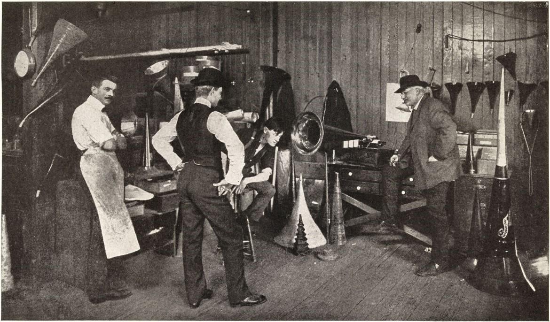 Theo Wangemann laboratoire Edison