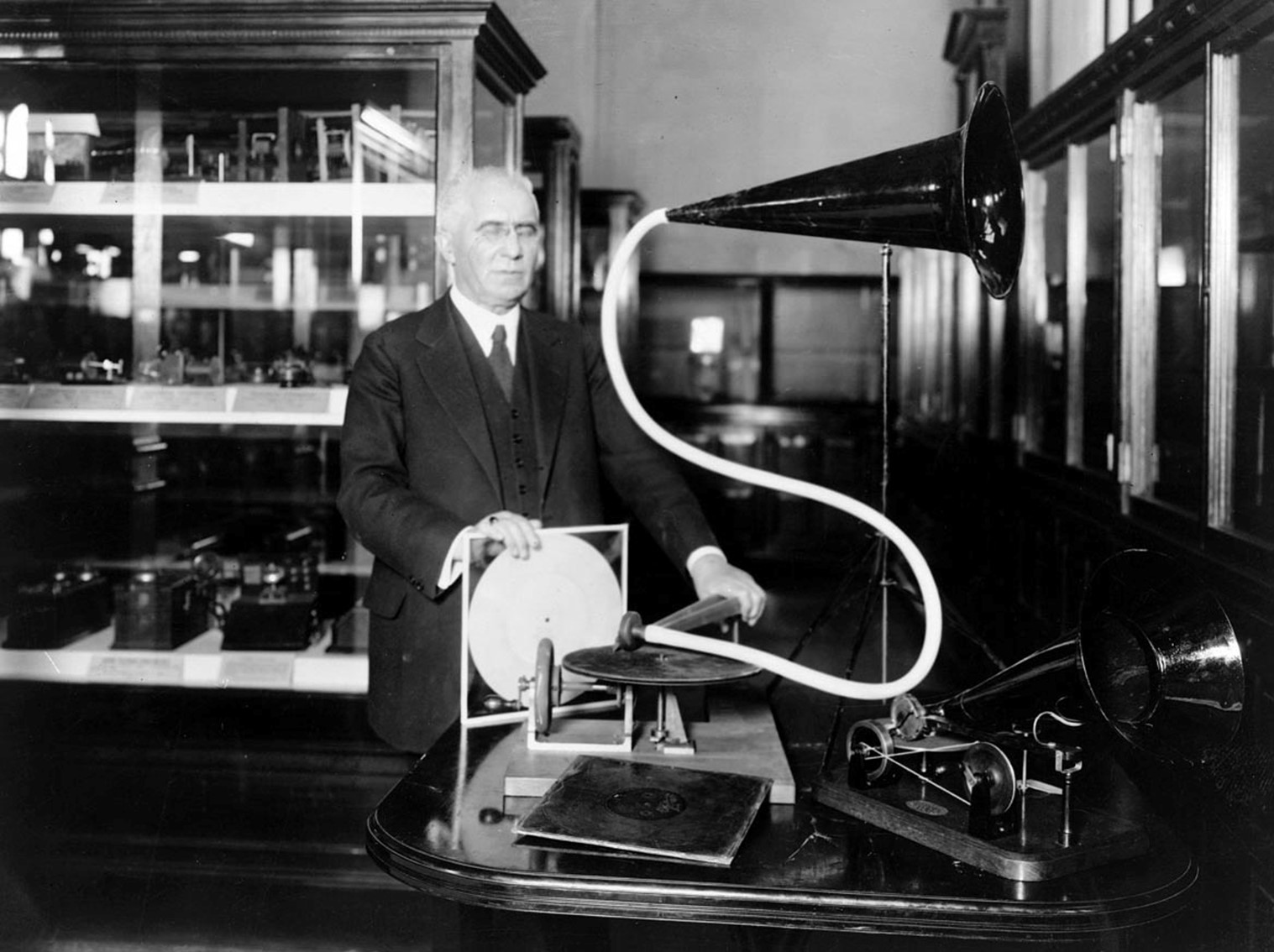 Emile Berliner gramophone