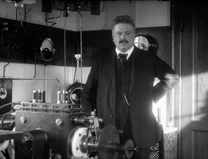 film muet danois ingénieur Valdemar Poulsen station télégraphie téléphonie sans fil