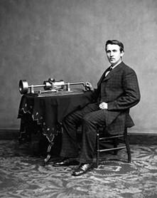 Thomas Edison phonographe