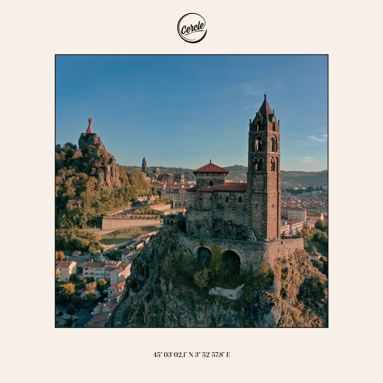 """Cover de """"Aiguilhe, nouveau single de Joris Delacroix, chez Cercle Records"""