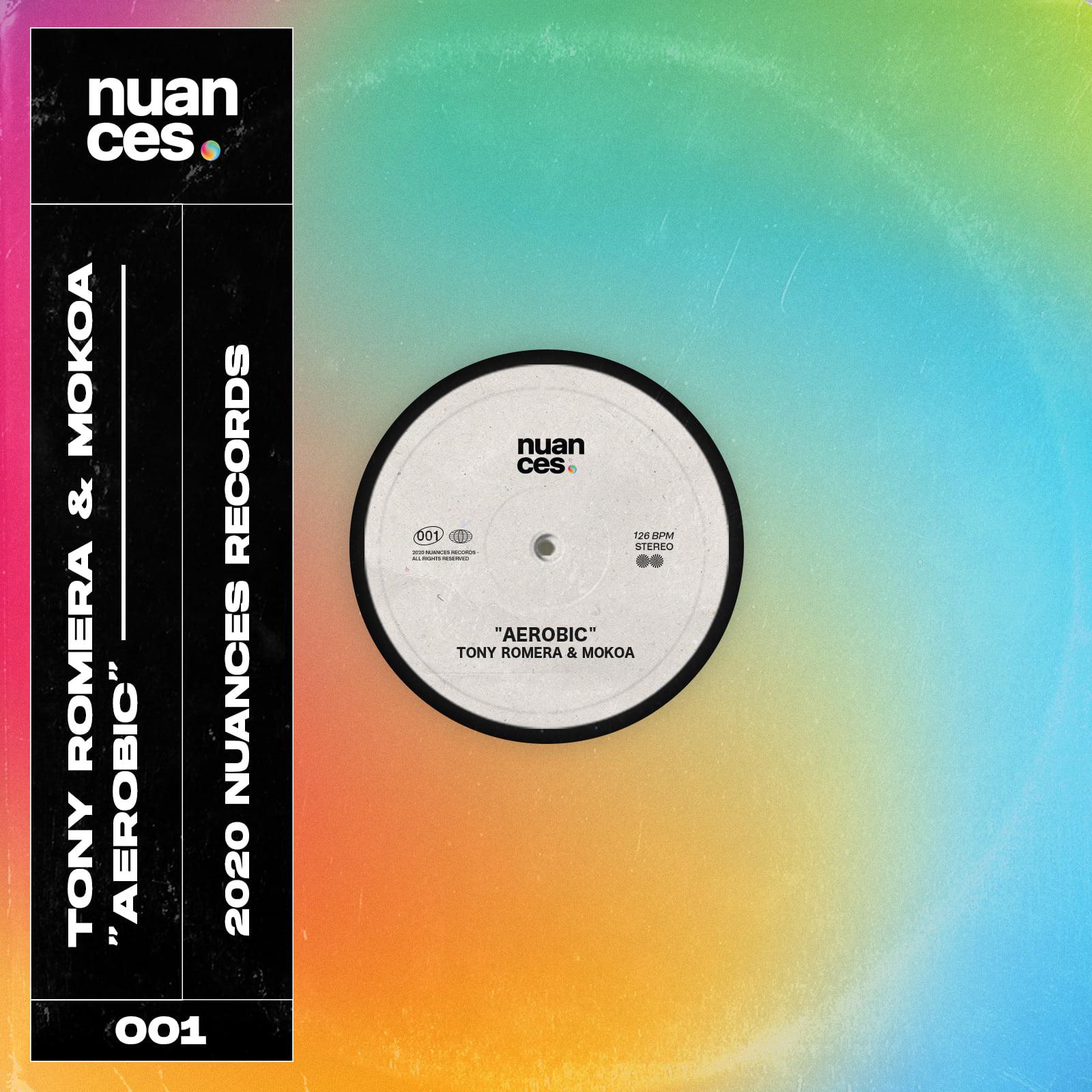 """Cover de """"Aerobic"""", collab entre Tony Romera et Mokoa, sur Nuances Records, le nouveau label d'Allo Floride"""