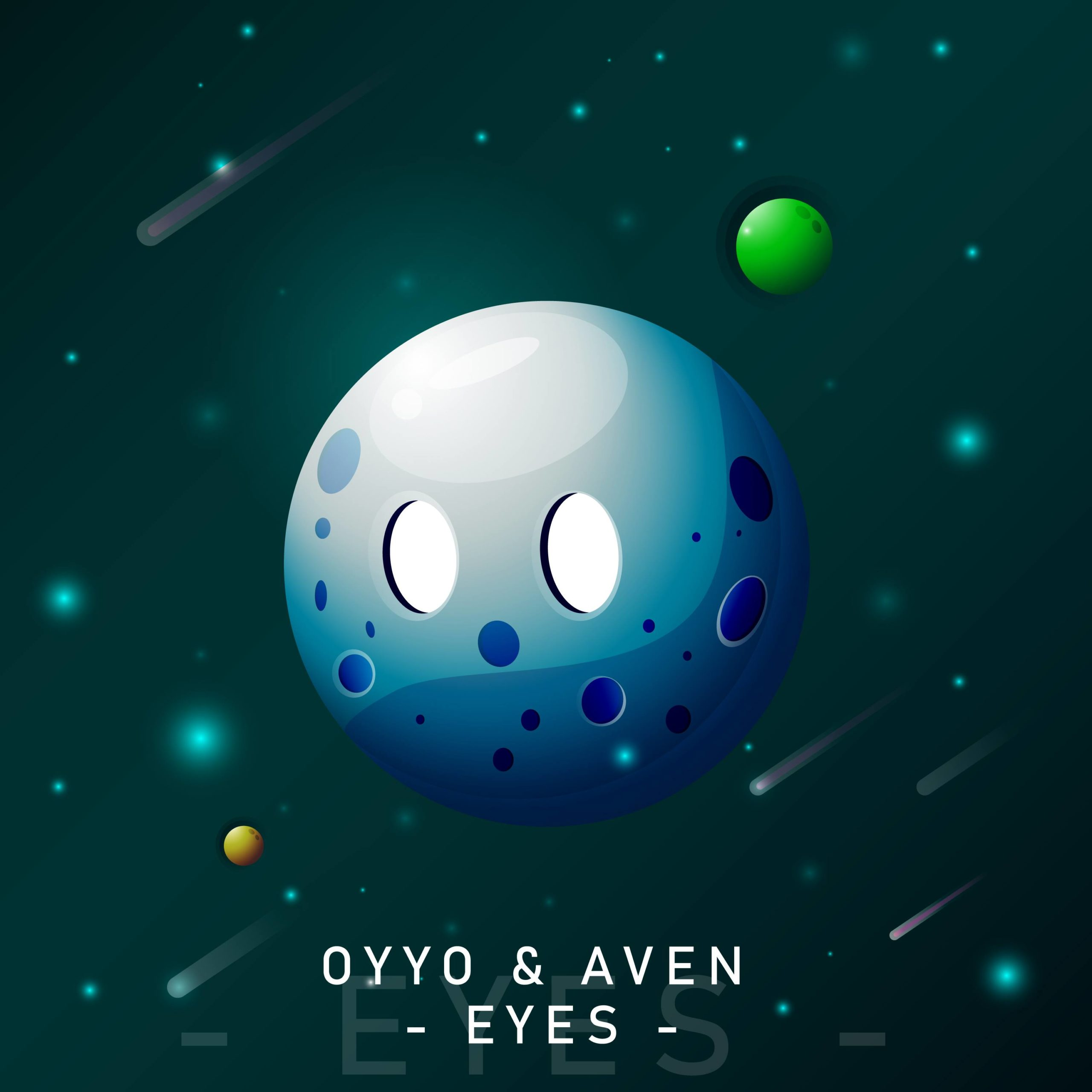"cover de ""Eyes"" la collaboration entre oYYo et Aven"