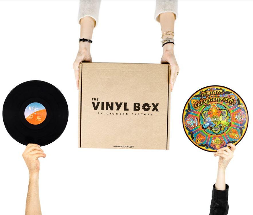Box vinyle proposée par Diggers Factory