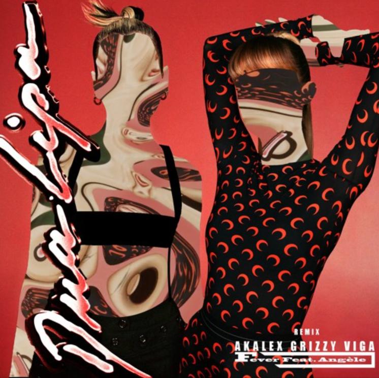 """""""Fever"""" de Dua Lipa et Angèle, remix par Akalex Viga et Grizzy"""