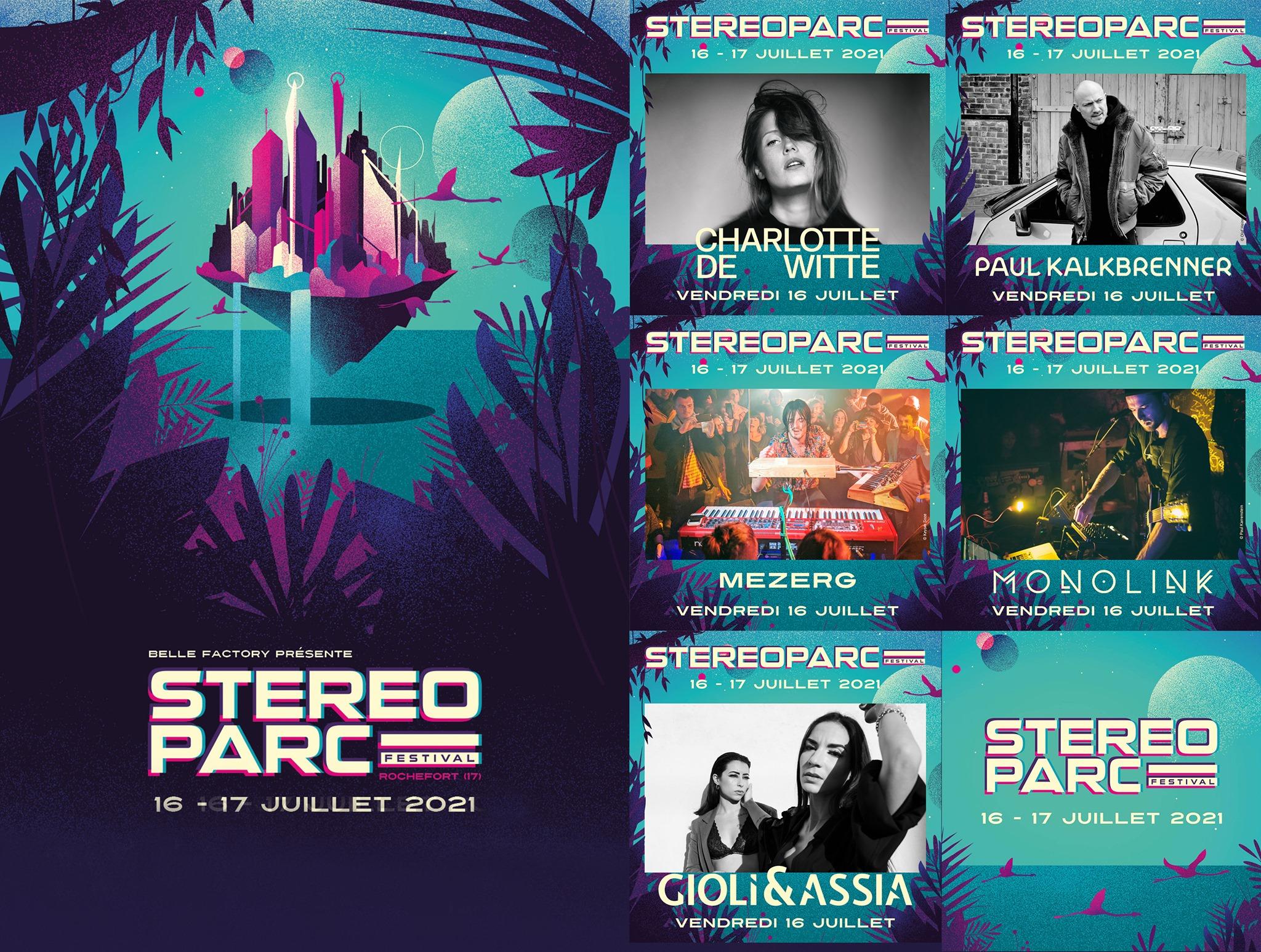 Line-up du stereoparc