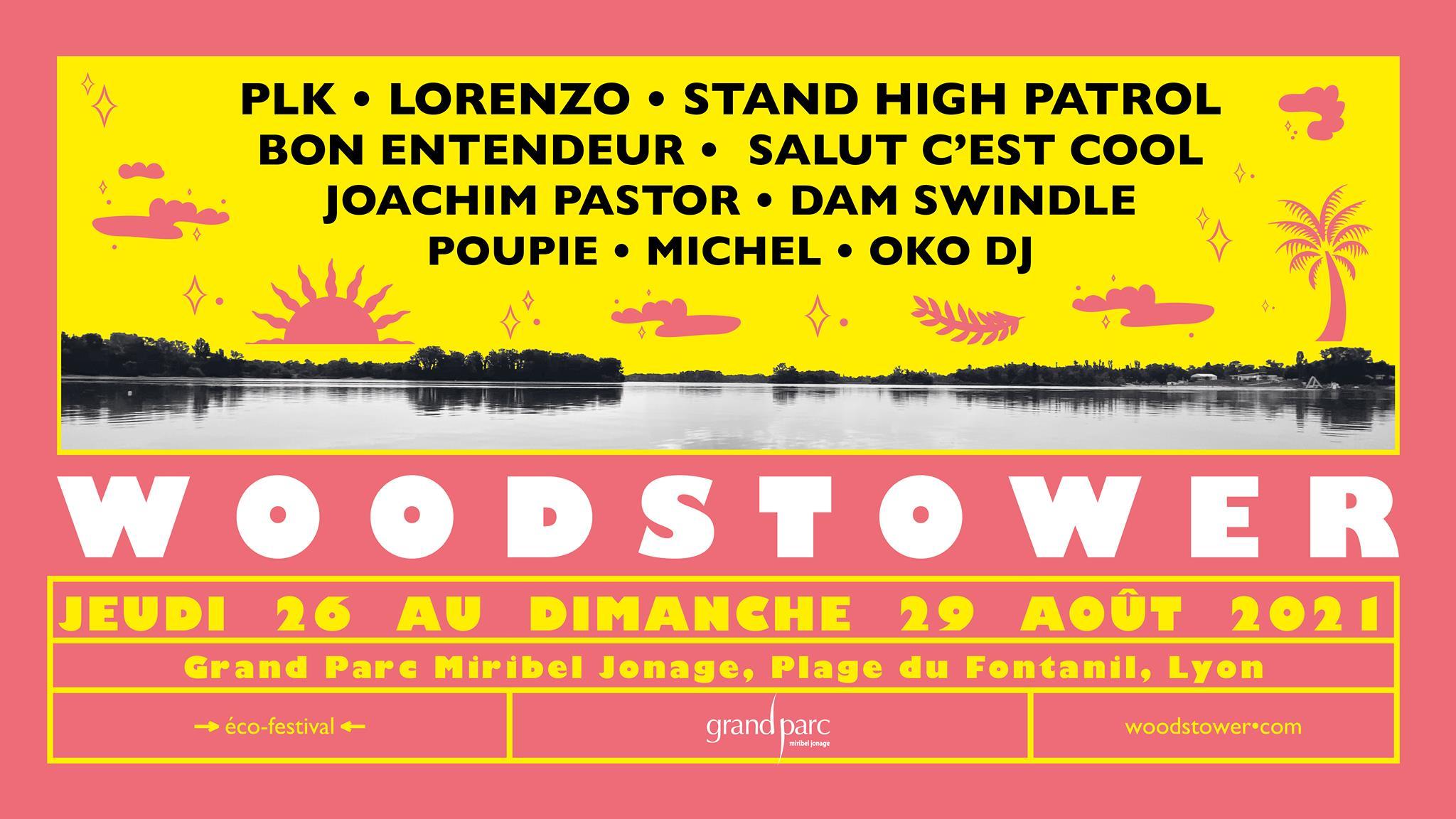 Line-up du Woodstower