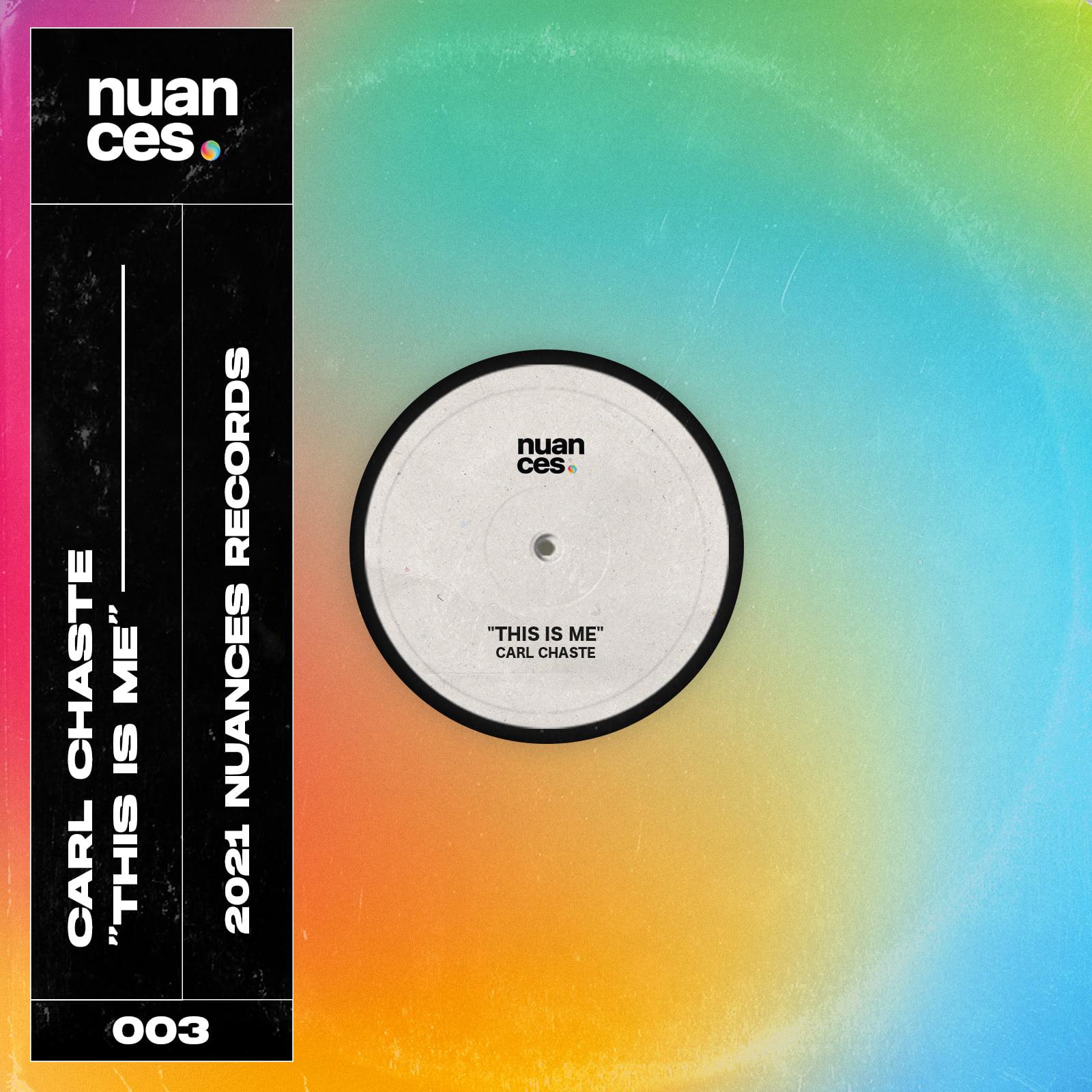 """Cover de """"This is me"""", le nouveau Carl Chaste sur nuances records"""