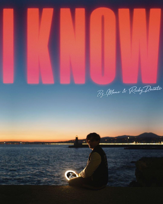 """Cover de """"I Konw"""", le nouveau titre de Møme & Ricky Ducati"""