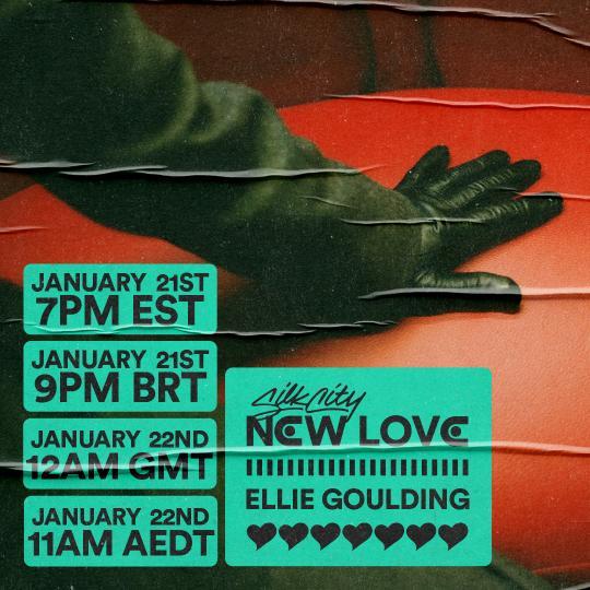 """Cover de """"New Love"""" le nouveau titre de Silk City (Diplo et Mark Ronson) et Ellie Goulding !"""