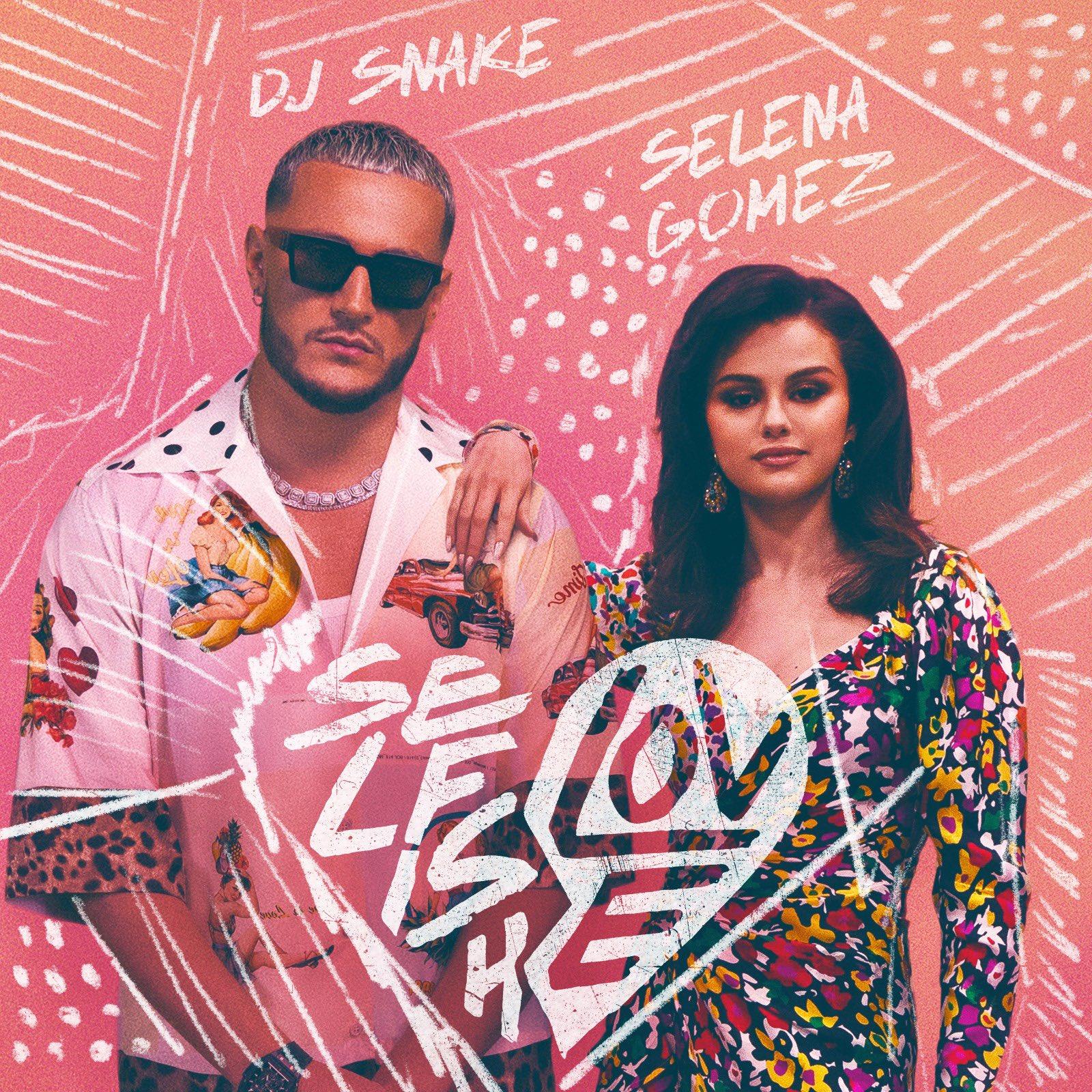 "Cover de la collaboration ""Selfish Love"" entre Selena Gomez et DJ Snake"
