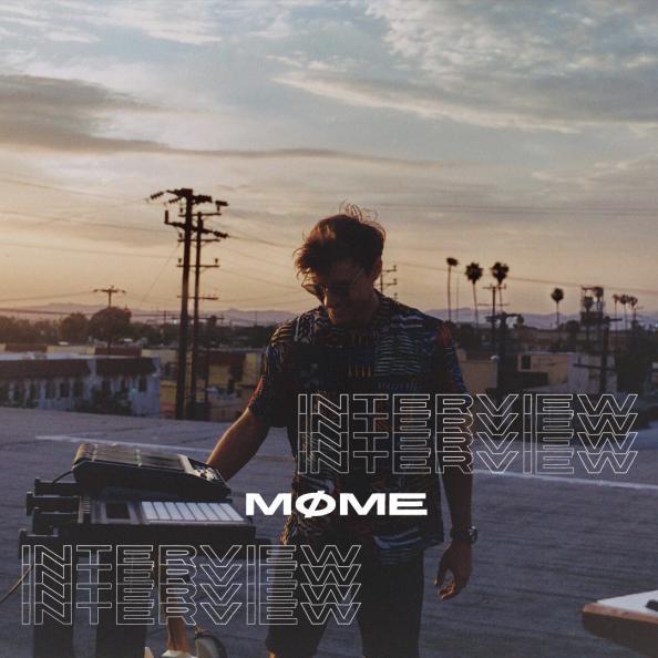Cover de Møme pour interview