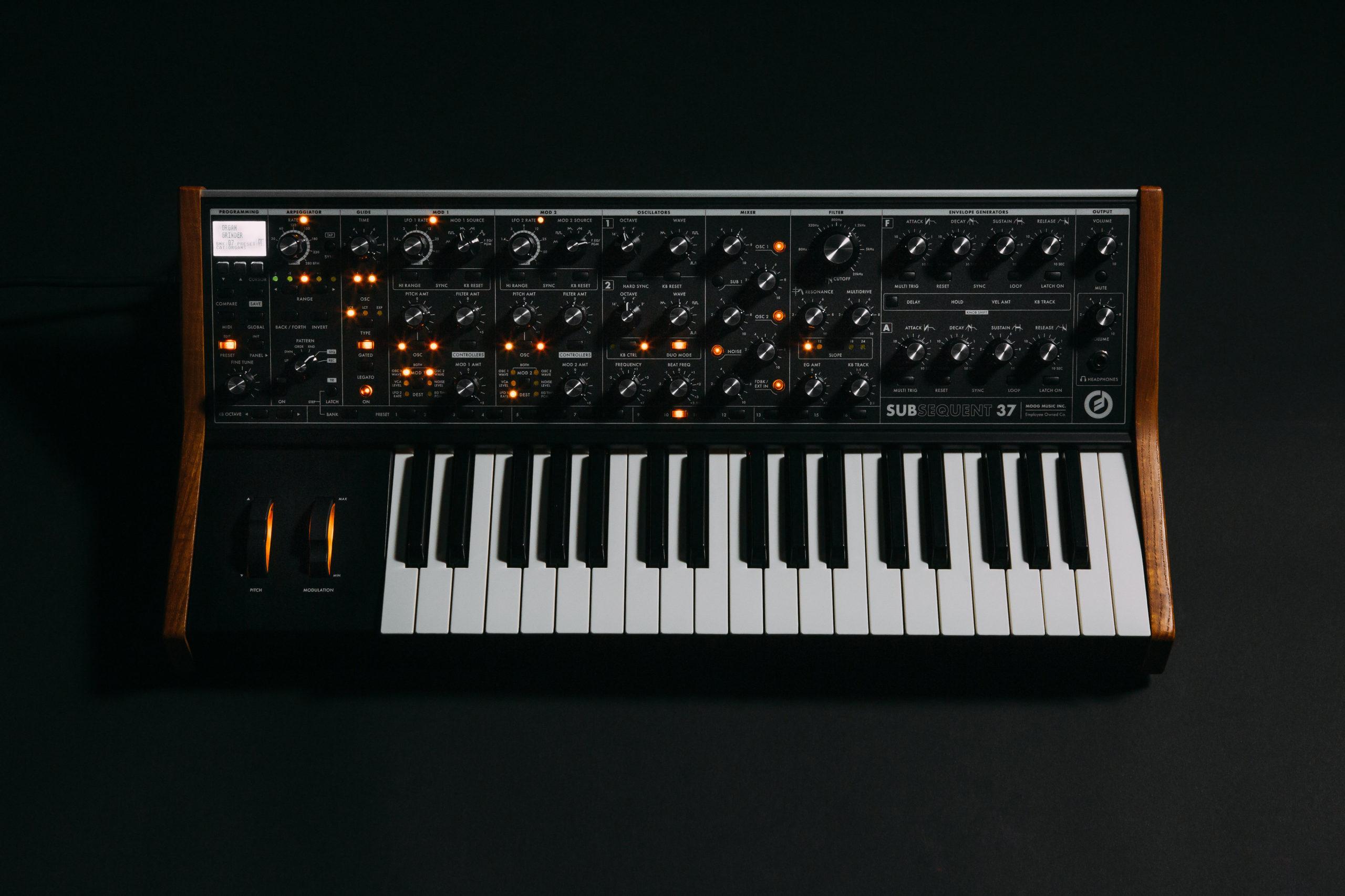 Synthétiseur Analogique Moog
