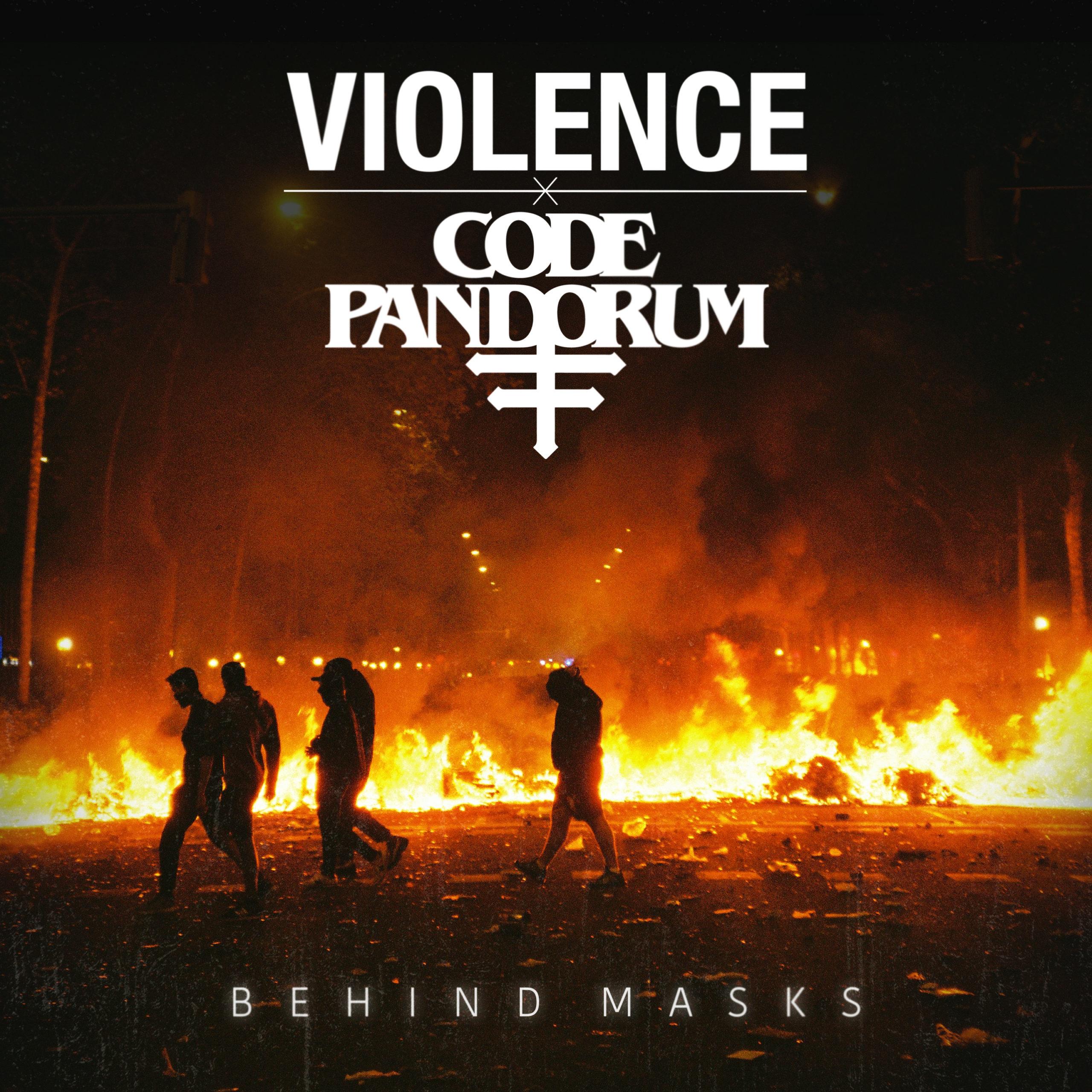 Violence Code: Pandorum Behind Masks cover