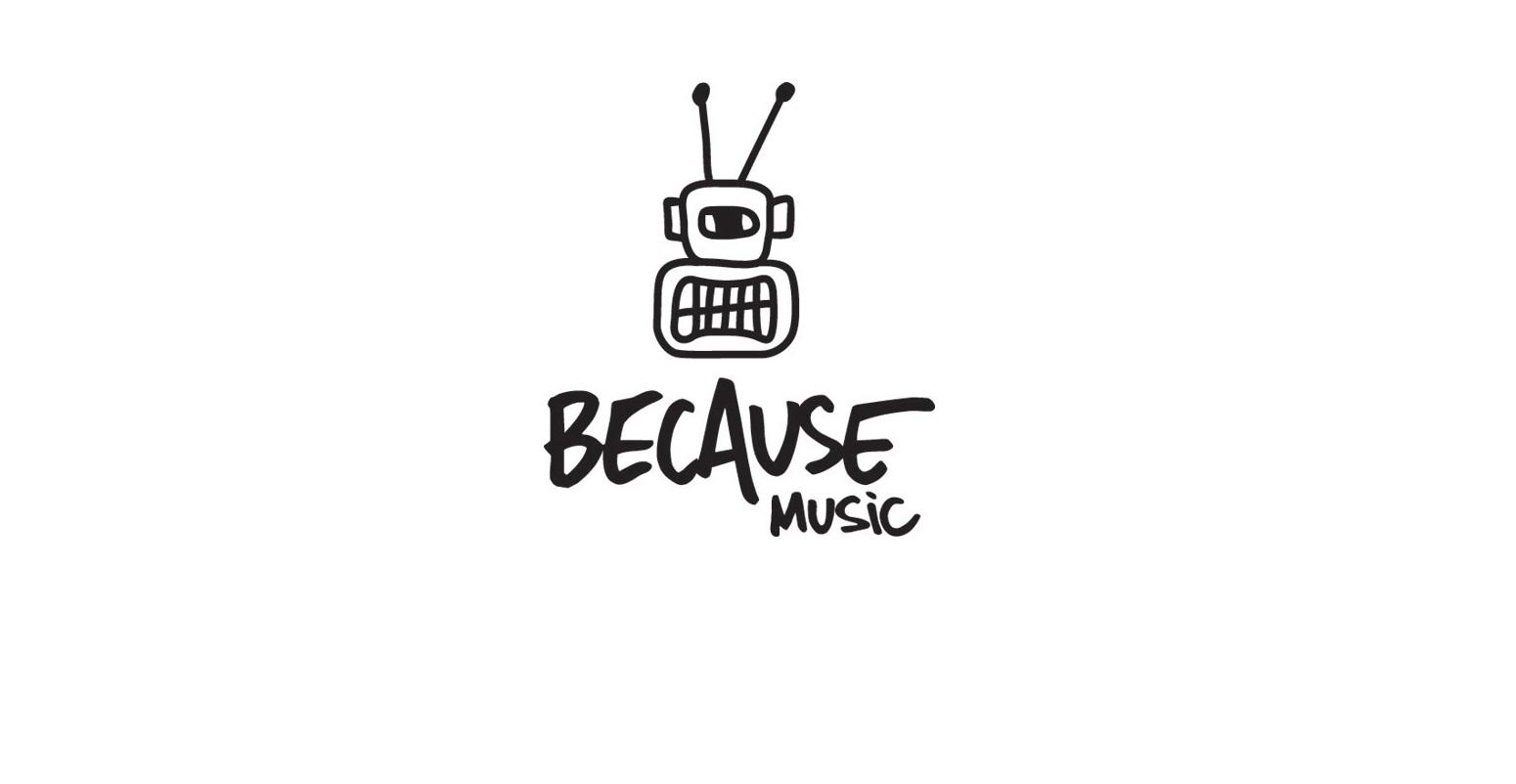 Logo Because Music
